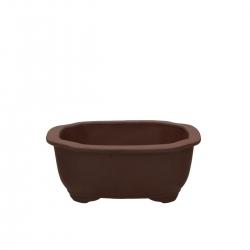 Pot 15.5 cm cloud unglazed brown