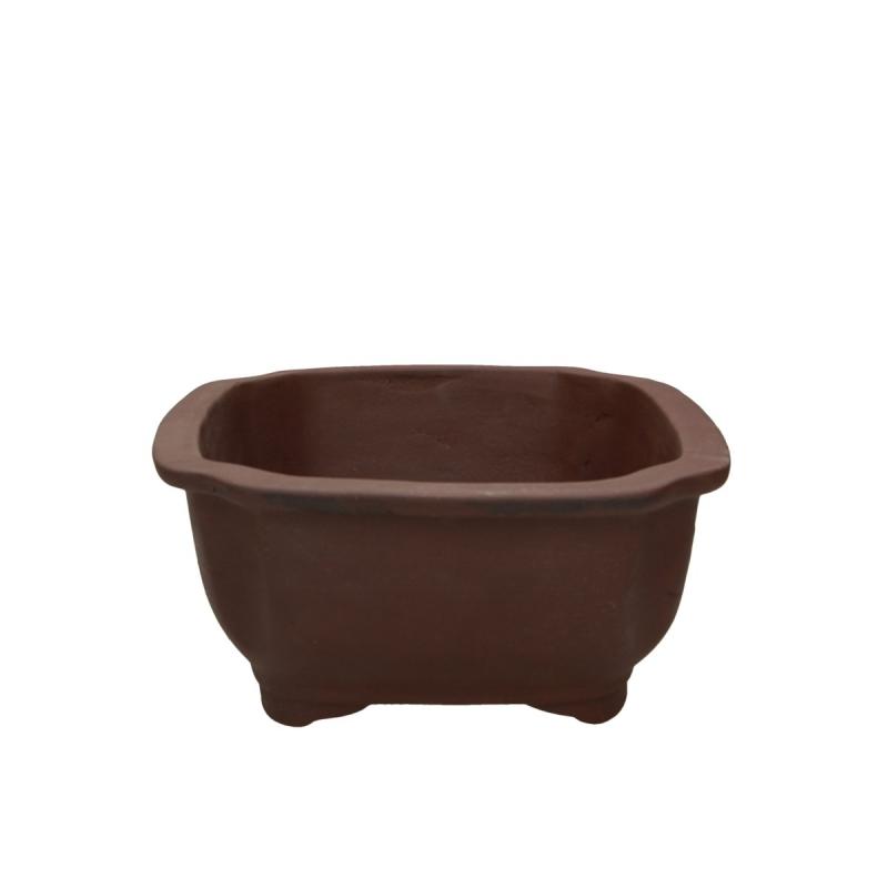 Pot 26.7 cm cloud unglazed brown