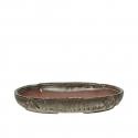 Pot 32 cm oval multicolor