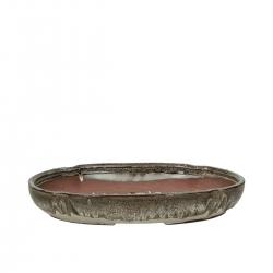 Pot 32 cm oval multicouleur