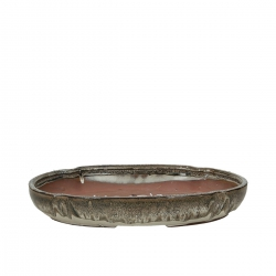 Vaso 32 cm ovale multicolore