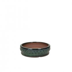 Vaso 15,5 cm tondo verde