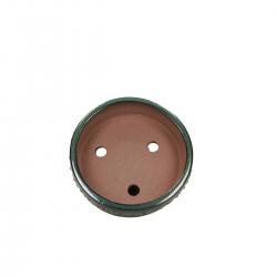 Pot 15,5 round green