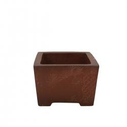 Vaso 20 cm rettangolare