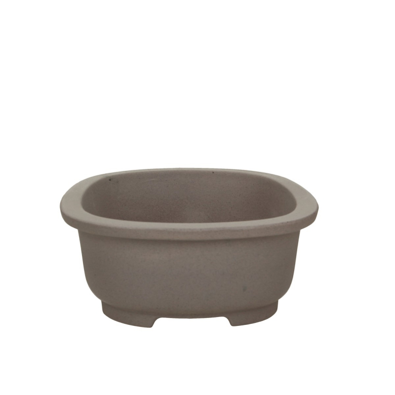 Pot 27 cm oval grès grey