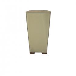 Pot 11.8 cm square beige
