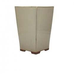 Pot 14.5 cm carré beige