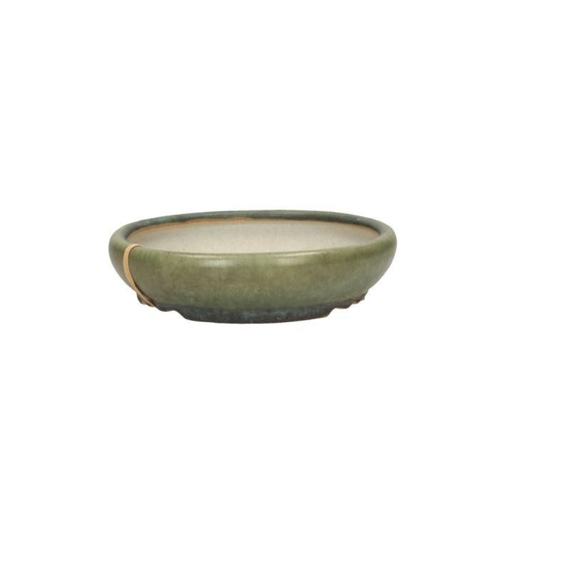 Pot 13 cm rond vert - Shuiming