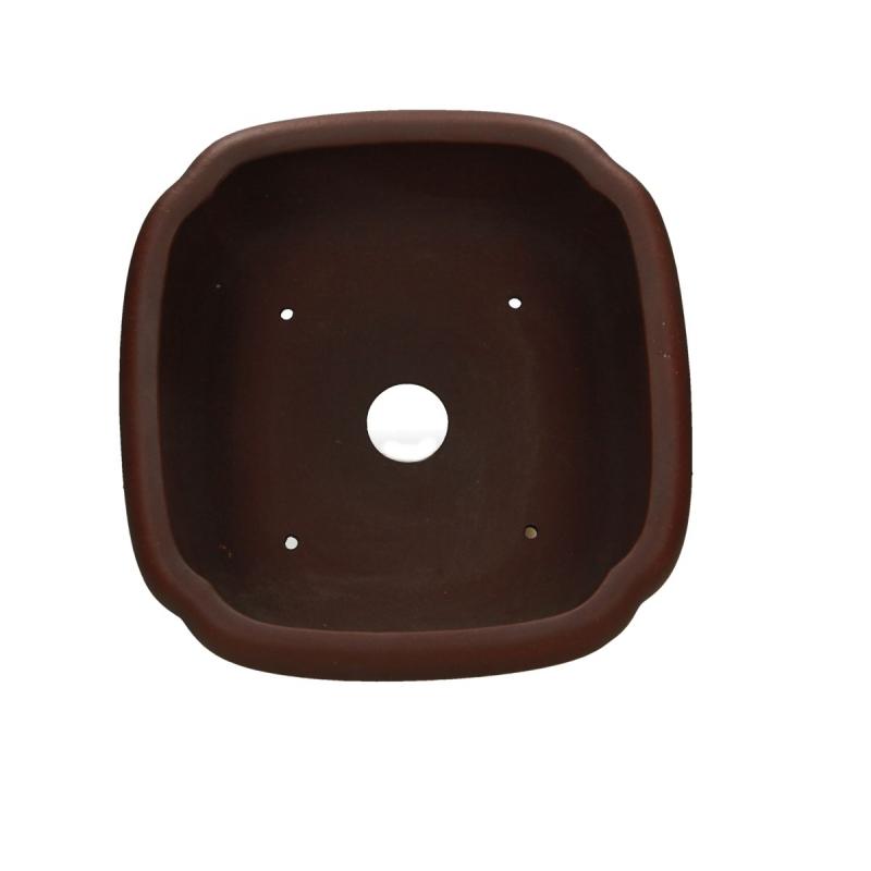 Pot 24 cm carré grès - Shuiming