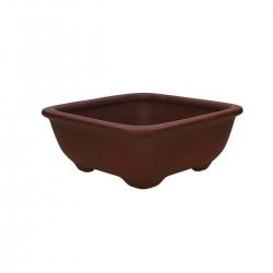 Pot 24.5 cm square grès - Shuiming
