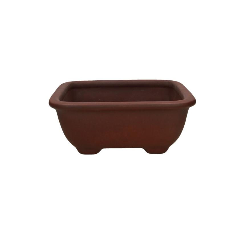 Pot 24.5 cm carré grès - Shuiming