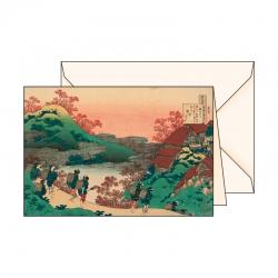Carte de voeux  Ukiyo-e Dames