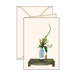 Carte de voeux Ikebana 1
