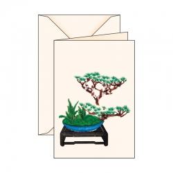 Biglietto d'auguri Ikebana 2