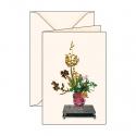 Carte de voeux Ikebana 3