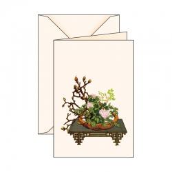 Biglietto d'auguri Ikebana 4