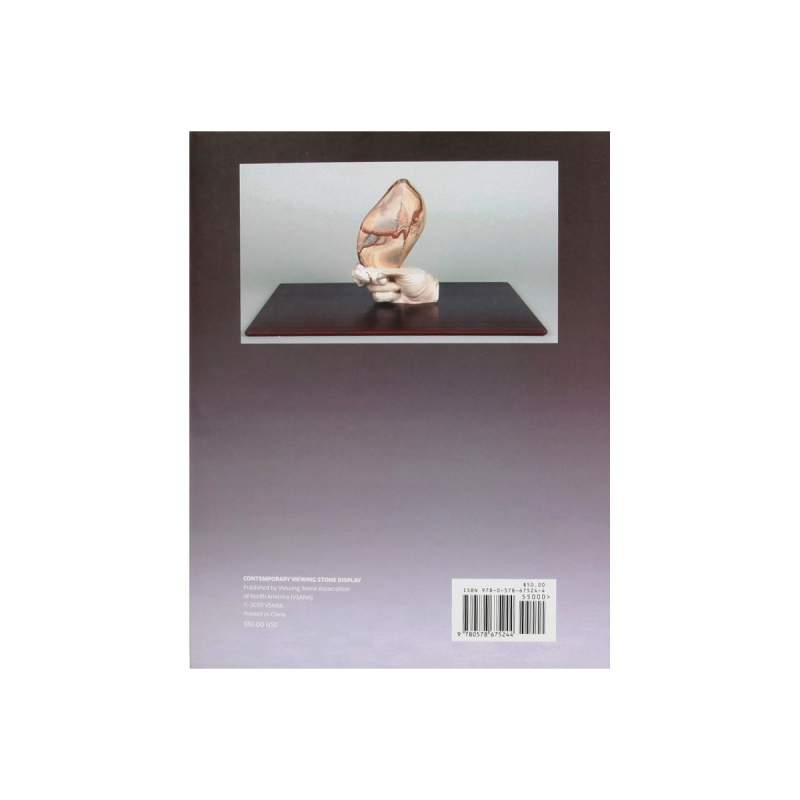 Contemporary Viewing Stone Display