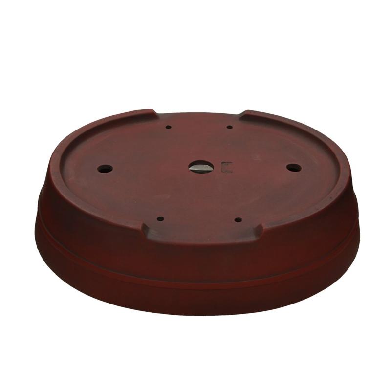 Vaso 40 cm ovale grès - Shuiming