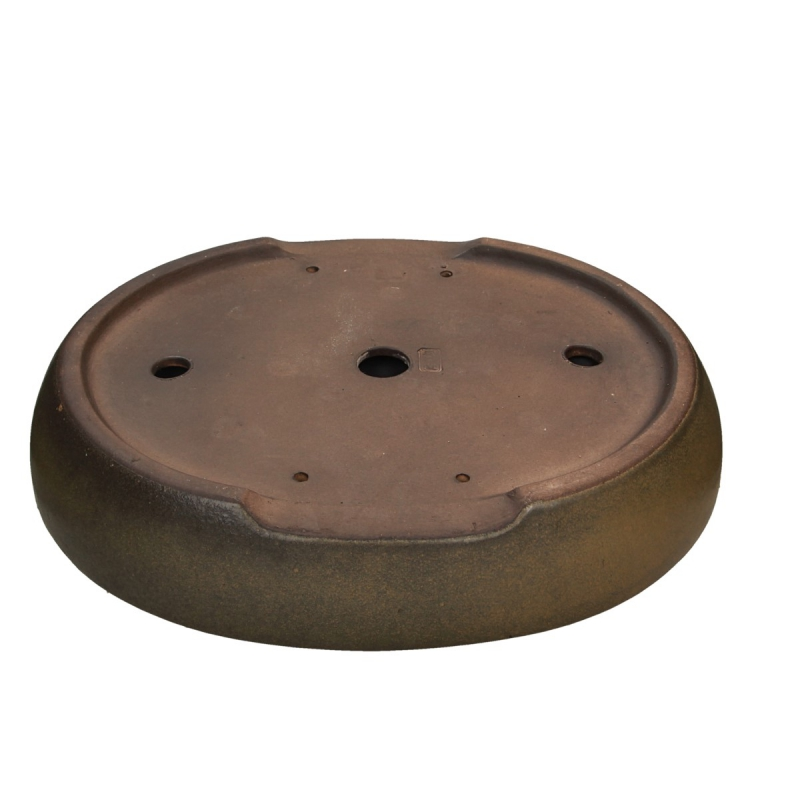Pot 40 cm ovale grès - Shuiming