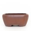 Pot 24 cm square grès - Shuiming