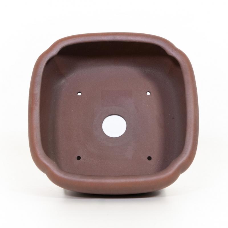 Vaso 24 cm quadrato grès - Shuiming
