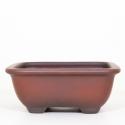 Vaso 25 cm quadrato grès - Shuiming