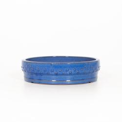 Pot 24 cm rond bleu