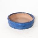 Vaso 24 cm tondo blu