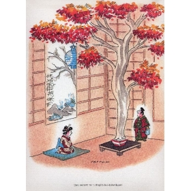I bonsai di Cattoni - Illustrazioni umoristiche