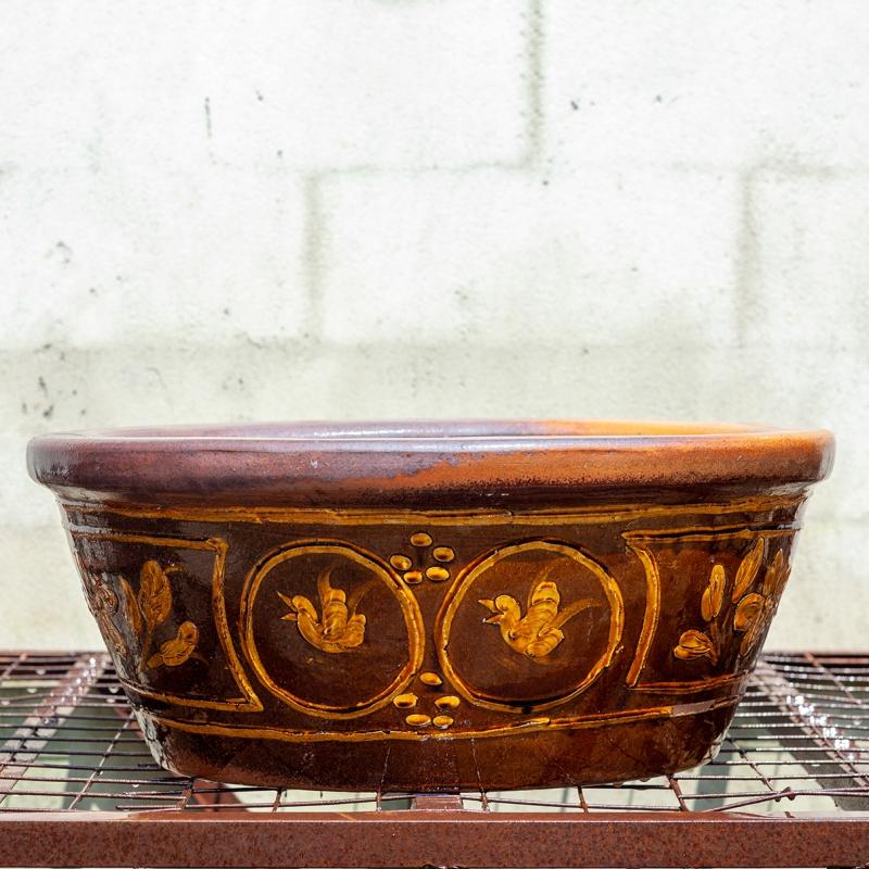 Stoneware water garden container 70 cm (05)