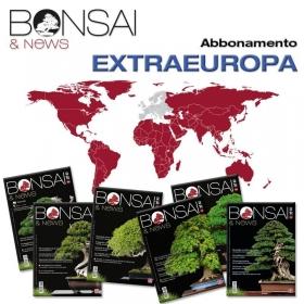 Abbonamento annuale BONSAI & news - EXTRA EUROPA