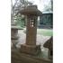 Lanterna in pietra Koyabo - H 105 cm