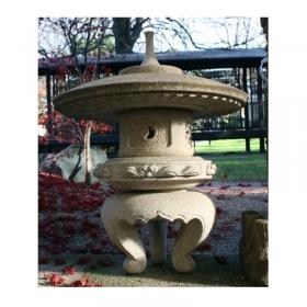 Lanterna in pietra Yukimi - H 45 cm