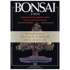 Raccolta BONSAI & news - dal n°  21 al n° 30