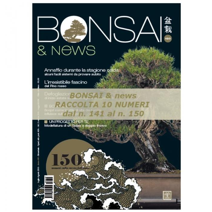 Raccolta BONSAI & news - dal n° 141 al n° 150