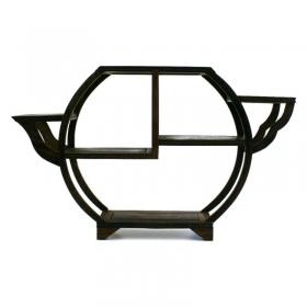 Tavolino a ripiani in legno - 43x8x27 cm