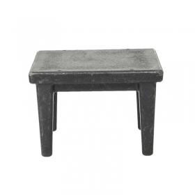 Tavolino quadrato - 11,8x11,8x8 cm
