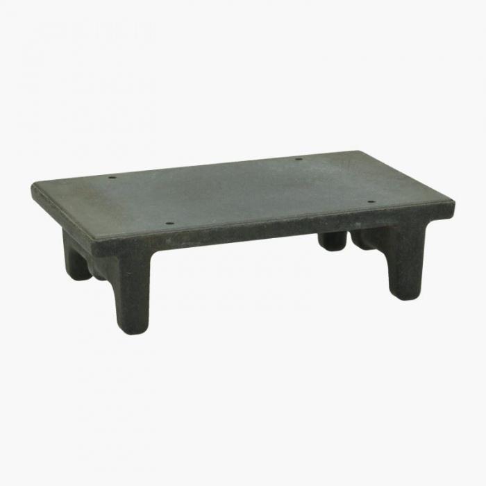 Tavolino rettangolare - 17,5x11x4,5 cm