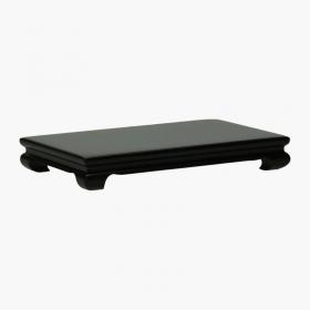 Tavolino rettangolare in legno - 12,8x8x1,7 cm