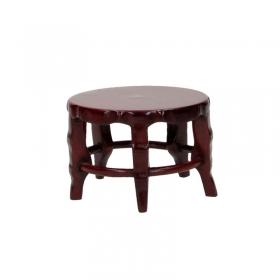 Tavolino tondo in legno - cinque piedini