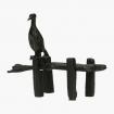 Tenpai cormorano su pontile