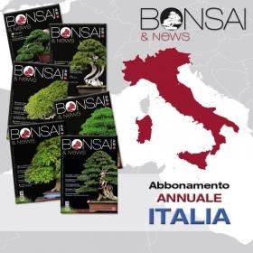 Abbonamento annuale BONSAI & news - ITALIA