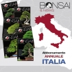 Annual subscription BONSAI & news - ITALY