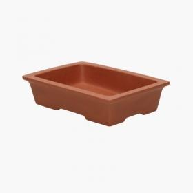 Vaso  15 cm rettangolare