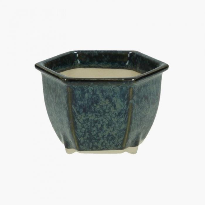 Vaso  9 cm esagonale