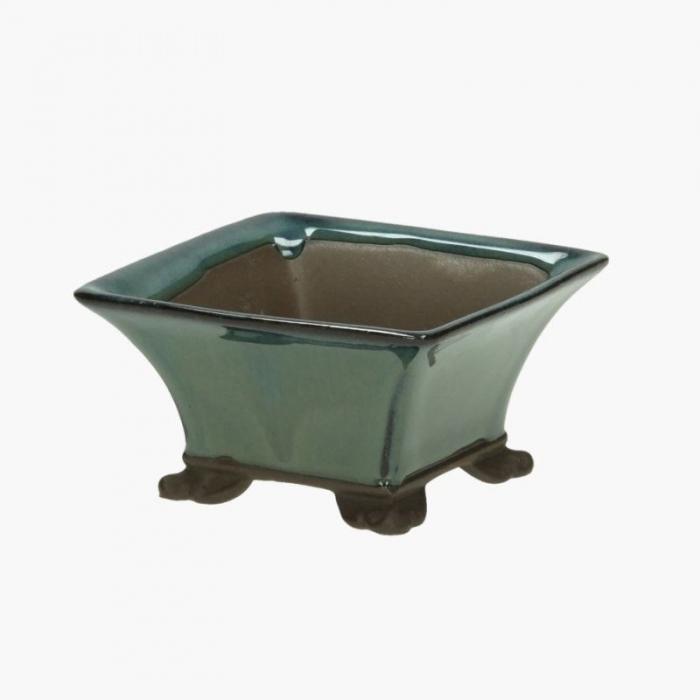 Vaso  9,5 cm quadrato
