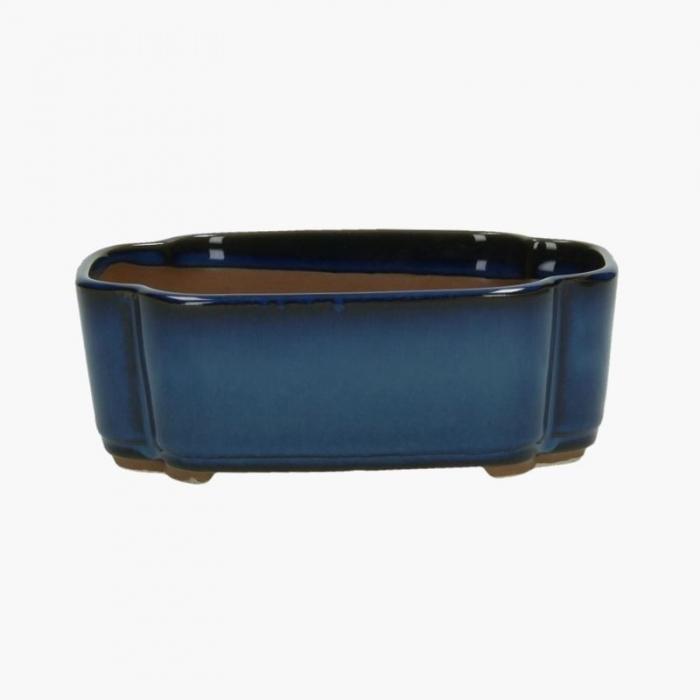 Vaso 18,5 cm nuvola blu