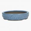 Pot 23,5 cm rond bleu ciel