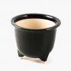 Pot 24,5 cm round black