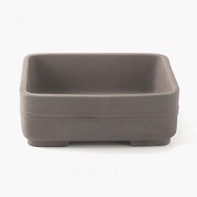 Vaso 25 cm rettangolare grigio